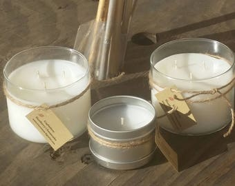 Soy/Paraffin Candles