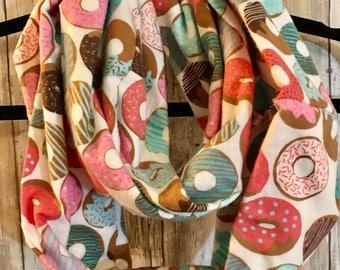 Kid/Teen flannel infinity scarf