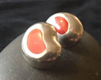 Pair of Mexico fashion kidney bean ladies earrings