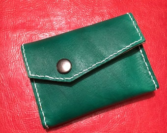 Handmade Leather Business Card Wallet (Type 2)