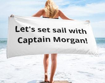 Captain Morgan Towel