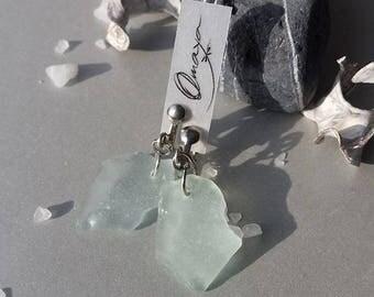 Earrings from Sea Glass