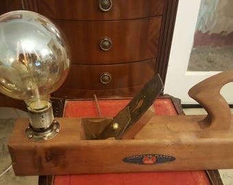 Vintage Marples Planes Lamp