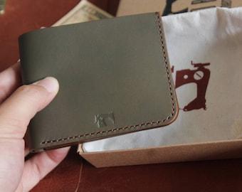 Simple Bifold Wallet, Handmade wallet