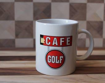 Vintage Tin Cup Golf Mug 1996
