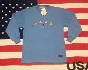 Polo spirit deadstock with tag sweatshirt M spell out
