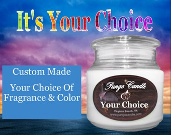 Scented Jar Candle (16 oz.) Many Different Fragrances!