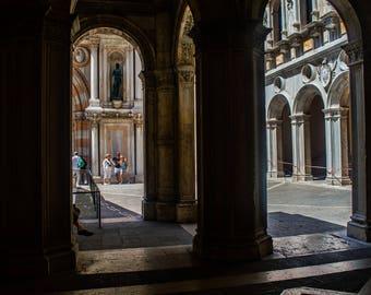 Photo of the Columns at Saint Mark's Basilica