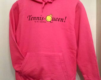TollerTennishoody for girls in cool pink!