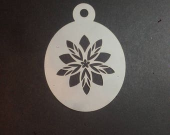 Flower Stencil for face painting or crafts