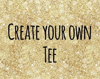 Create your own childrens tshirt