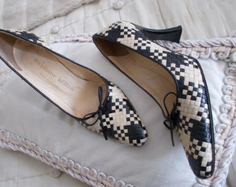 Shoes Stephane Kelian Made in France Paris 36 chic Vintage 80's