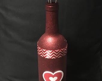 Valentine's Day Bottle