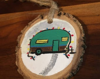A Hand Painted Ornament