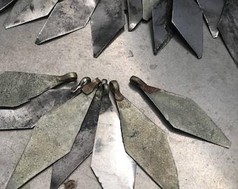 Turkoman Diamond Fringe Findings lot of 100
