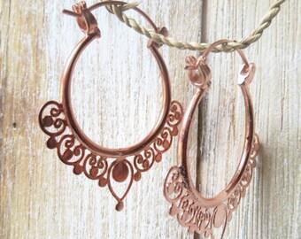 Sana Hoop earrings