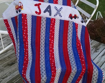 Personalized toddler blanket