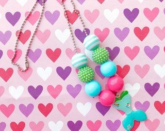 Bubblegum Jewel Necklace