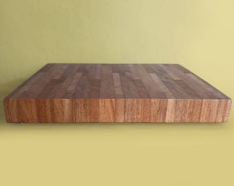 African Mahogany End grain cutting board