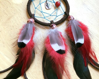 "3"" rear view mirror dream catcher!"