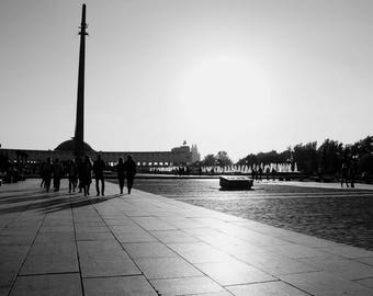 Moscow Black and White