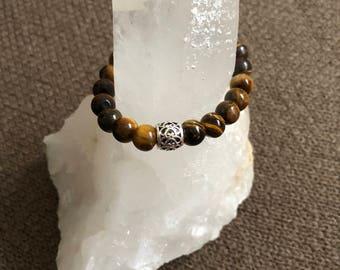 Tiger's Eye Crystal Bracelet