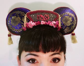 Mulan Mickey Mouse Ears Headband- One of a Kind!