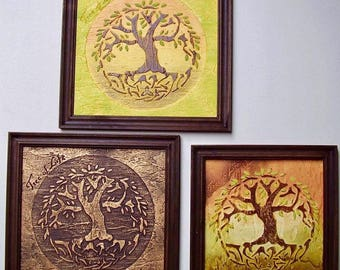 Handmade picture  The Tree of Life