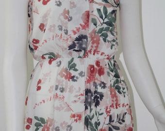 WOMEN DRESS MiDi dress flowers dress