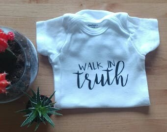 Walk in Truth Onesie