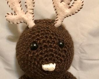 Crochet Deer Stuffed Animal