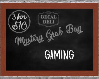 Gaming Decal Mystery Bag