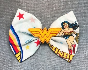 Wonder Warrior - Wonder Woman Hairbow