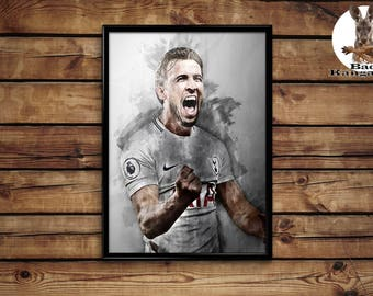 Harry Kane print wall art home decor poster