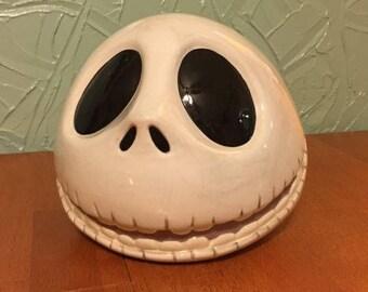 Walt Disney Nightmare Before Christmas Jack Skellington Cookie Jar
