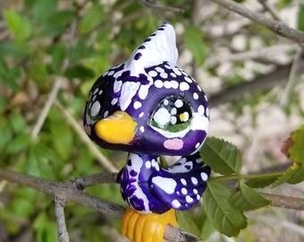 Hand painted Littlest Pet Shop Woodpecker
