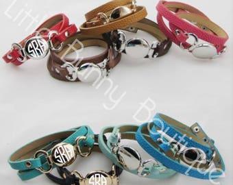 Leather Multiwrap Bracelet