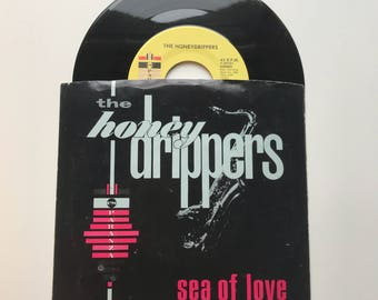 "The Honeydrippers-Sea of Love 45rpm 7"" single"