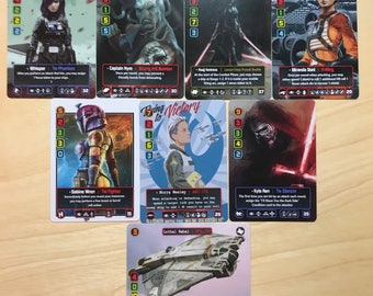Design Your Own - X-Wing Pilot Card