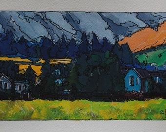 landscape from my sketchbook.