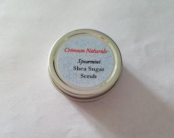 Spearmint Shea Sugar Scrub