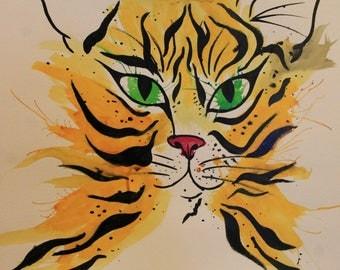 Ink Tiger (original)