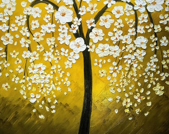 White Cherry Blossom Tree