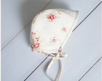 Essential Bonnet in Country Rose, Rowe Bonnets