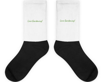Custom Made / Personalized Gift  Socks  made in the USA