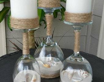 Sea Shell candle holder