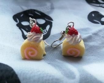 Cute tart earrings