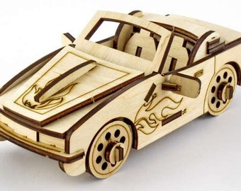 3-D puzzle Cabriolet