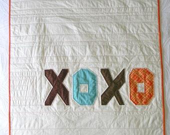 XOXO Baby Quilt