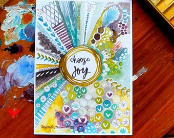 choose joy - 5 x 7 inches